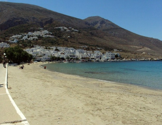 Aegiali Beach, Amorgos
