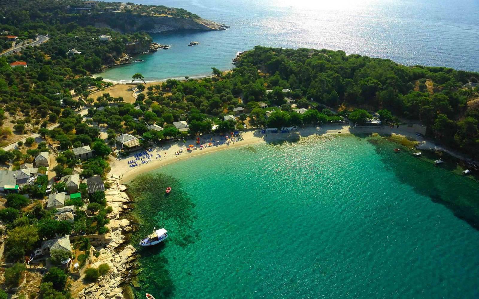 Aliki Beach, Thasos