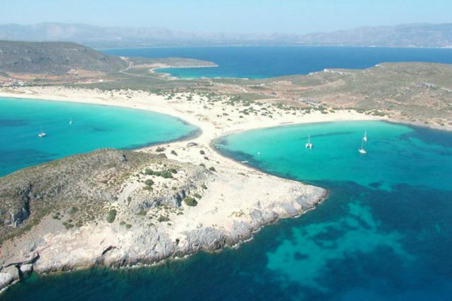 Elafonisos beach, Lakonia