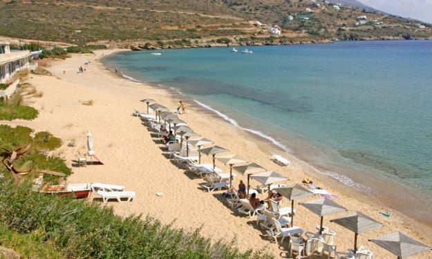 Felos Beach, Andros