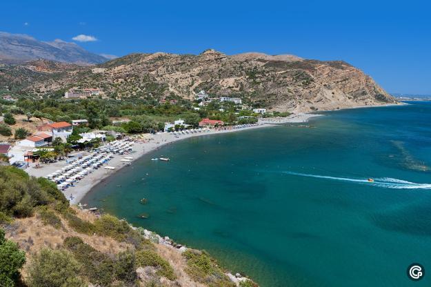 Santa Galini Beach, Rethimno