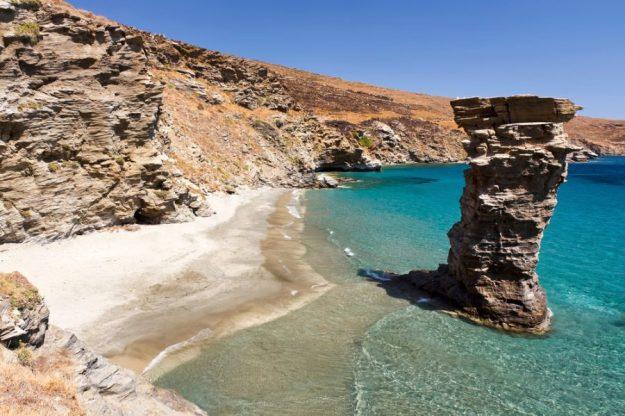Grias Pidima Beach, Andros