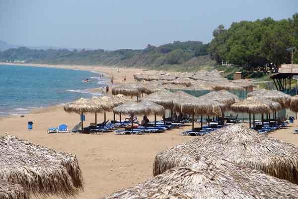 Kourouta beach, Ilia