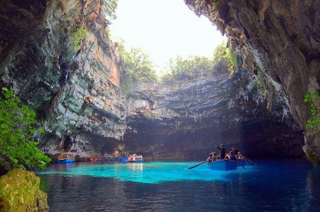 Melisani Cave, Kefalonia