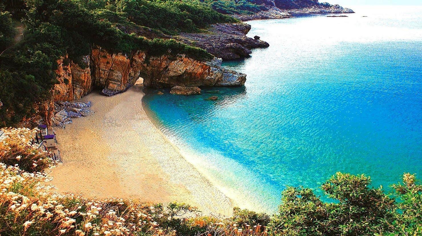 Milopotamos Beach, Magnisia