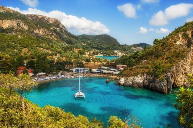 Paleokastritsa-beach, Corfu
