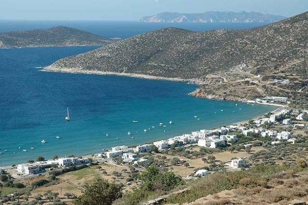 Platis Gialos Beach, Sifnos