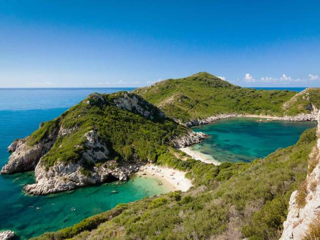 Porto Timoni Beach, Corfu