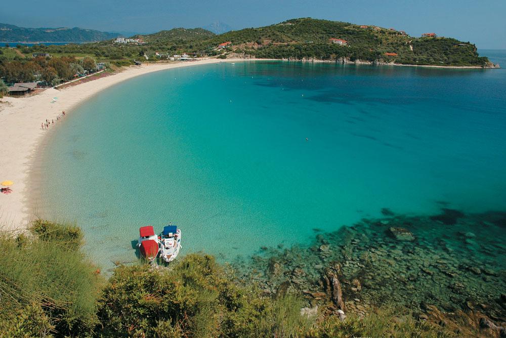 Ammouliani Beach, Chalkidiki