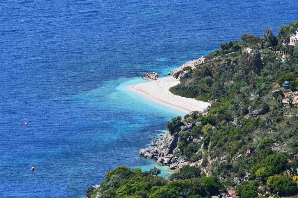 Aspros Gialos Ithaki island