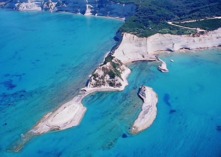Peroulades Loggas Beach, Corfu Island