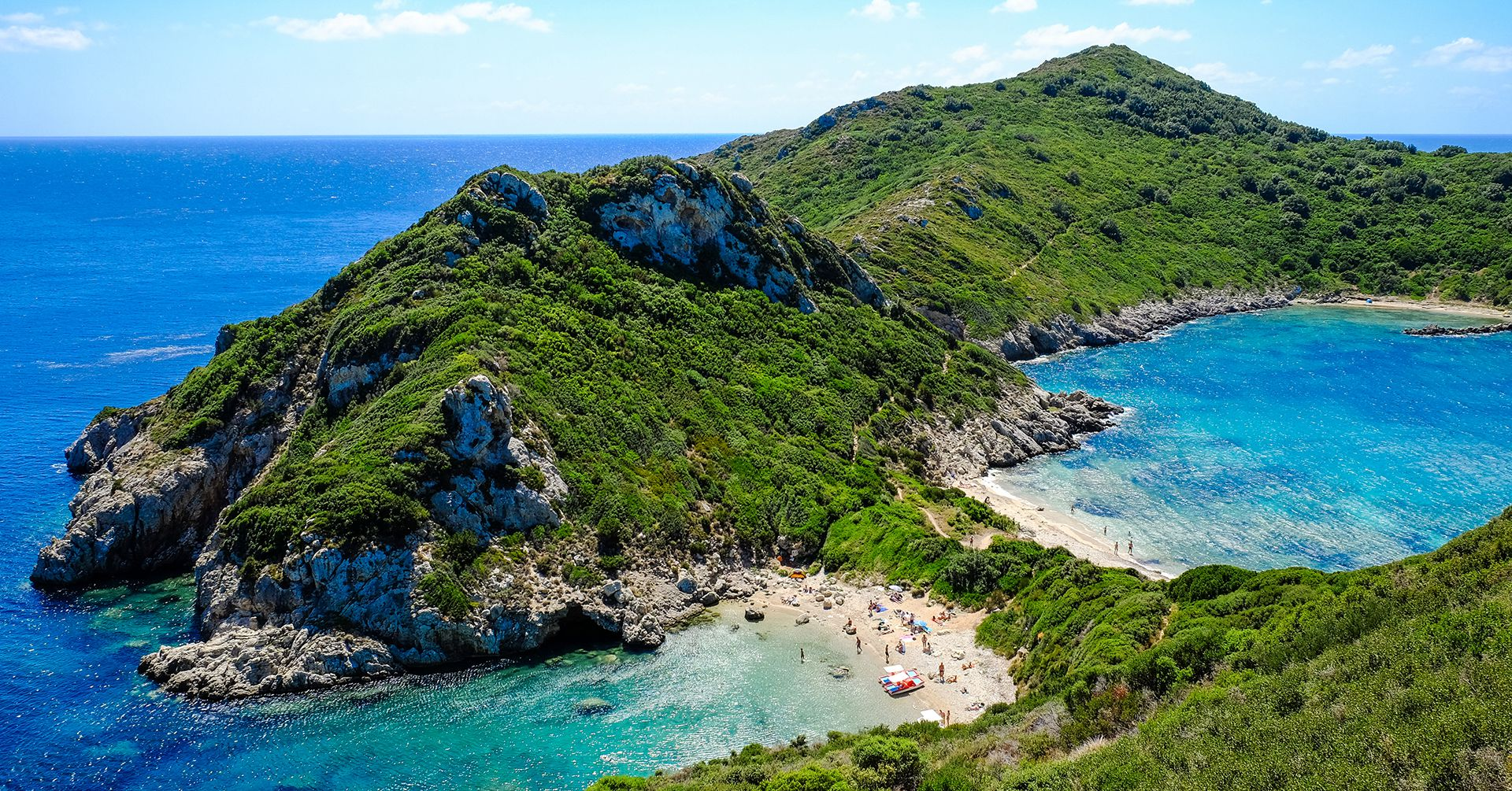 Porto TImoni, Corfu Island